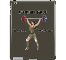 Warrior Mode (Silkies) iPad Case/Skin