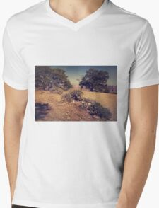 Rooted in Love Mens V-Neck T-Shirt