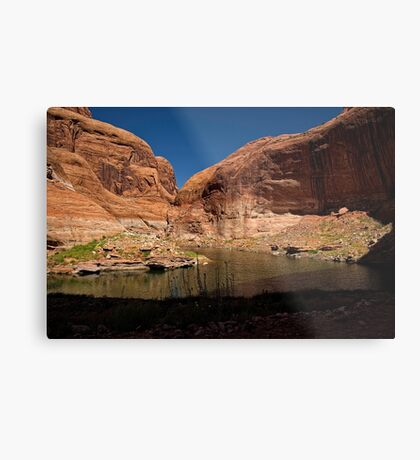 Listen For The Rhythm of The West Metal Print