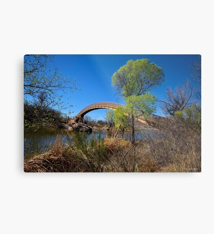 Over The Water I Will Show You The Way Metal Print
