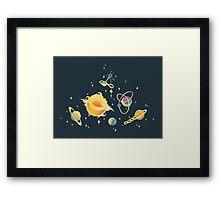 Space Oddities Framed Print