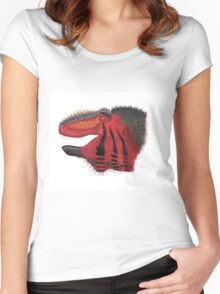 Fancy Tyrannosaurus Women's Fitted Scoop T-Shirt
