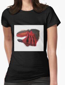Fancy Tyrannosaurus Womens Fitted T-Shirt
