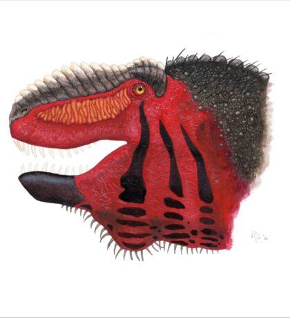 Fancy Tyrannosaurus Sticker