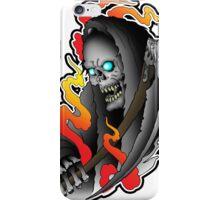 Grim Reaper tattoo iPhone Case/Skin