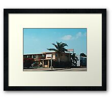Flamingo Motel (Malibu) Framed Print