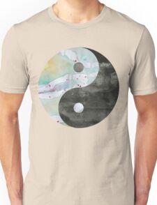 Yin & Yang Watercolor Unisex T-Shirt