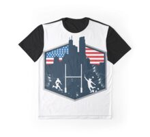 Rugby Frenzy USA Graphic T-Shirt