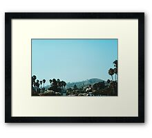 The Pacific Coast Highway (California) Framed Print