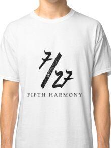 7/27 5H Black Classic T-Shirt