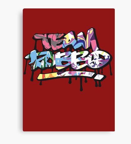 Team Robbo Wall Arts Canvas Print