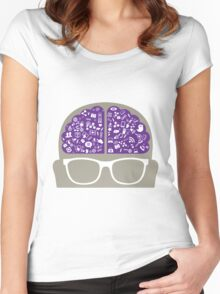 smart-data-head Women's Fitted Scoop T-Shirt