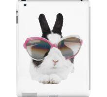 sticker-mural-lapin-lunette iPad Case/Skin