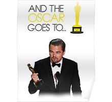 Leonardo DiCaprio - Oscar Winning 2016 Poster