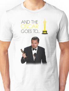 Leonardo DiCaprio - Oscar Winning 2016 Unisex T-Shirt