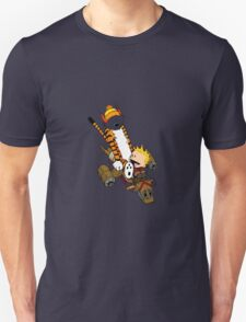 captain calvin and hobbe Unisex T-Shirt