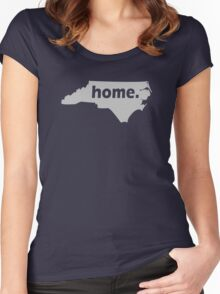 North Carolina Home Women's Fitted Scoop T-Shirt