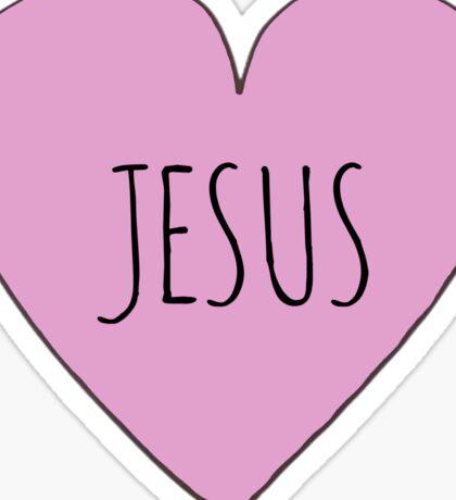 Jesus Love Sticker