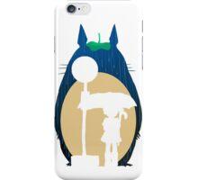 Rain Totoro iPhone Case/Skin
