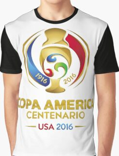 Copa America Centenario Usa 2016 best logo Graphic T-Shirt