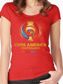 Copa America Centenario, Usa 2016 Women's Fitted Scoop T-Shirt