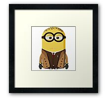 Minion|Doctor Who|Minions Framed Print