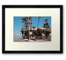 Aloha Hotel (Palm Springs) Framed Print
