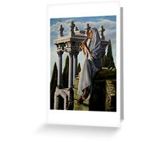 Mournful melody Greeting Card