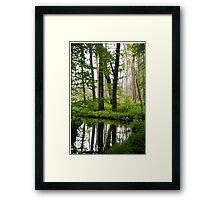 The Tourne Framed Print