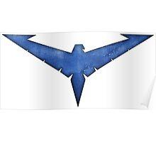Nightwing Symbol Poster