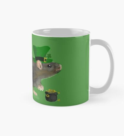 St Patrick's Rat  Mug