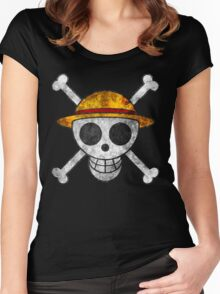 Straw Hat Pirates Women's Fitted Scoop T-Shirt