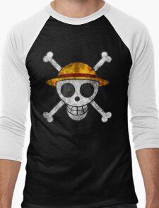 Straw Hat Pirates Men's Baseball ¾ T-Shirt
