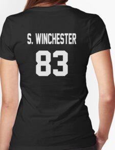 Supernatural Jersey (Sam Winchester) Womens Fitted T-Shirt