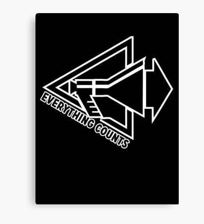 Everything Counts Canvas Print