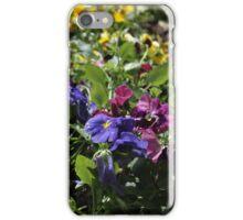 Fresh flowers iPhone Case/Skin