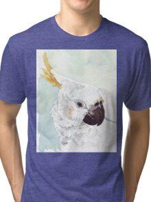 Danny, the Cockatoo 2 Tri-blend T-Shirt