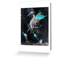 WDVH - 0011 - Kicking Bird Greeting Card