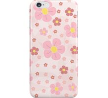 Pinky Flowers Effect iPhone Case/Skin