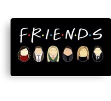 Friends Tiggles Canvas Print