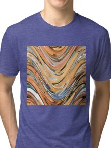 Waves  by rafi talby Tri-blend T-Shirt