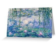 Water Lilies Claude Monet Fine Art Greeting Card