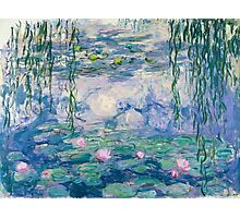 Water Lilies Claude Monet Fine Art Photographic Print