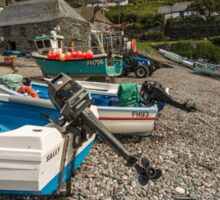 Cadgwith Fishing Boats  Sticker