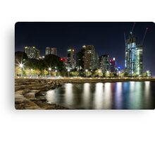 Night at Barangaroo Canvas Print