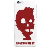 ilovezombie LOGO 2 iPhone Case/Skin