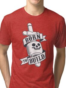Master Builders only - clear Tri-blend T-Shirt