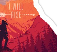 I will Rise Sticker