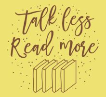Talk less READ MORE One Piece - Short Sleeve
