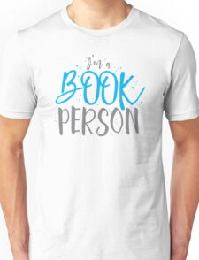 I'm a BOOK PERSON Unisex T-Shirt